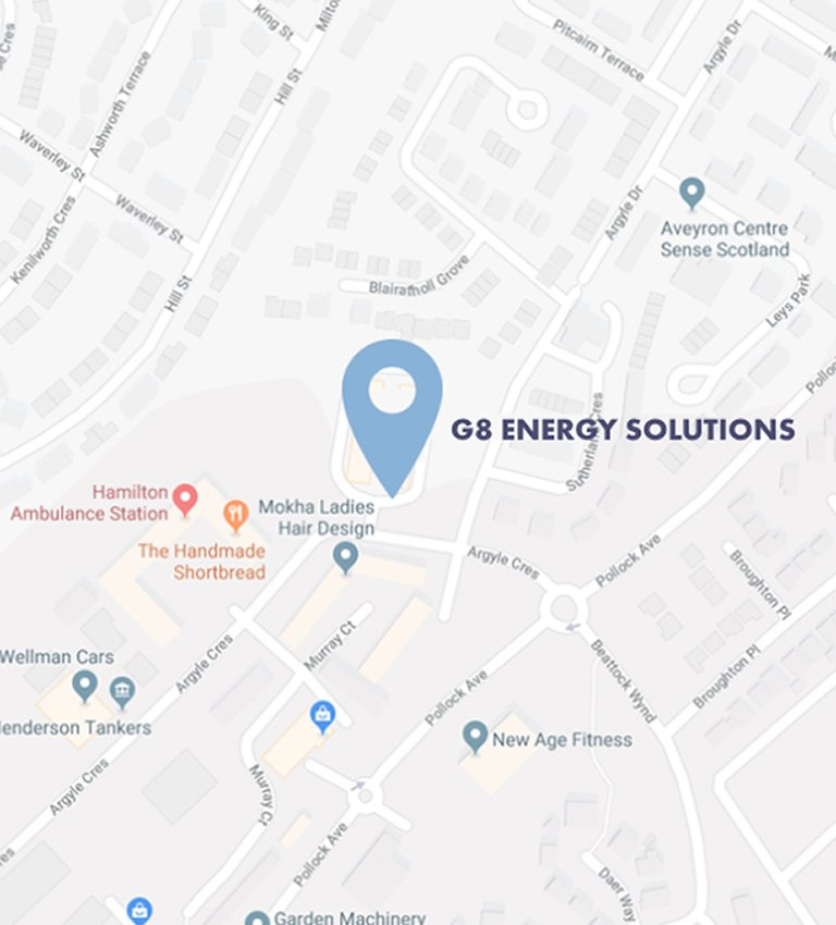 map G8 Energy mobile